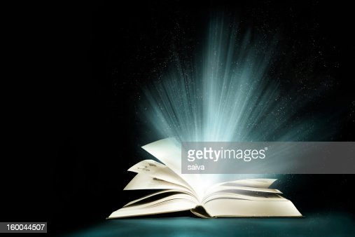 Magic book : Stock Photo