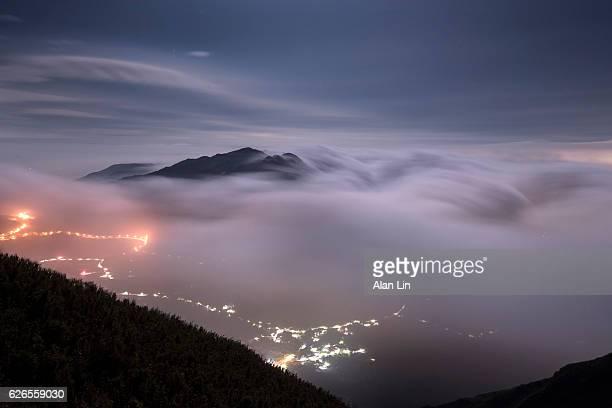 Magic Clouds,Mt. Datun, Taipei, Taiwan
