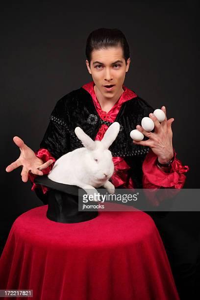 Magie de lapin de Pâques