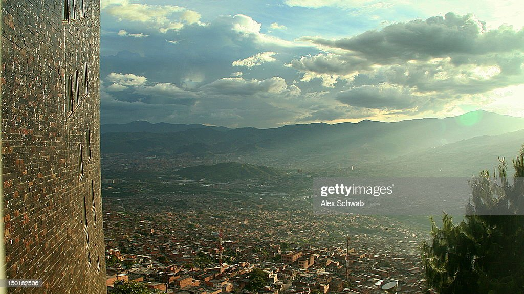Magic Medellin Arvo : Stock Photo