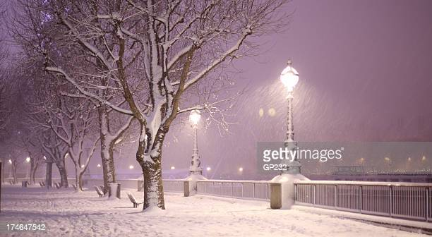 Magical Snow Scene London