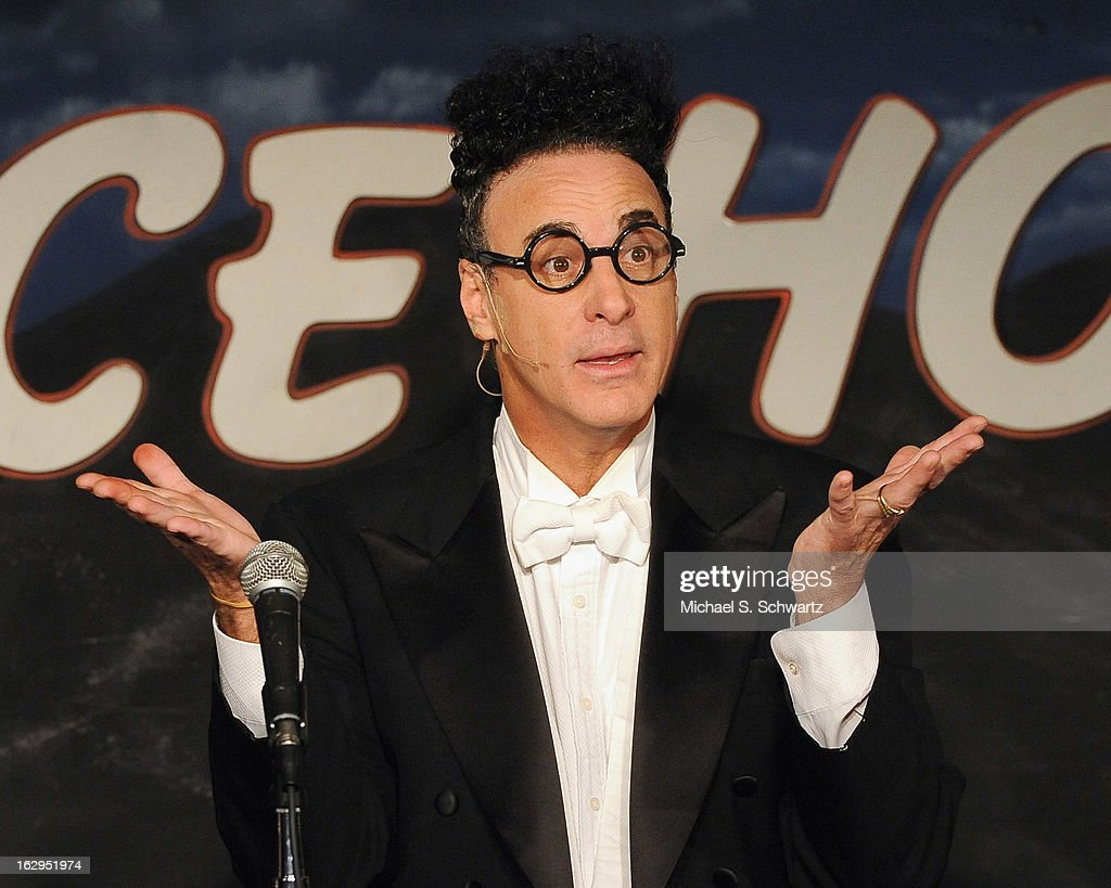 Magician and comedian Ed Alonzo performs during his appearance at The Ice House Comedy Club on March 1, 2013 in Pasadena, California.