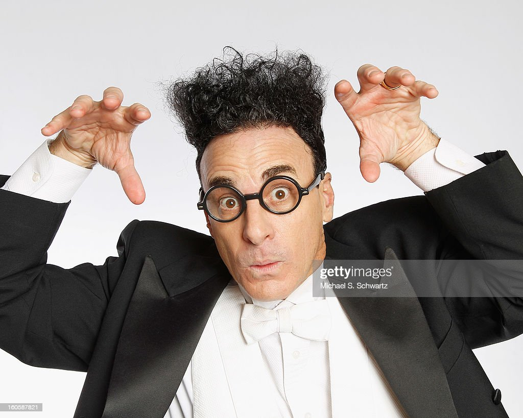 Magician and comedian Ed Alonzo poses after his performance at The Ice House Comedy Club on February 2, 2013 in Pasadena, California.