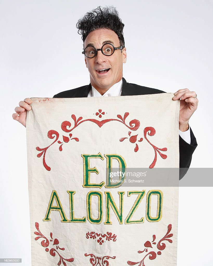 Magician and comedian Ed Alonzo poses after his performance at The Ice House Comedy Club on March 1, 2013 in Pasadena, California.