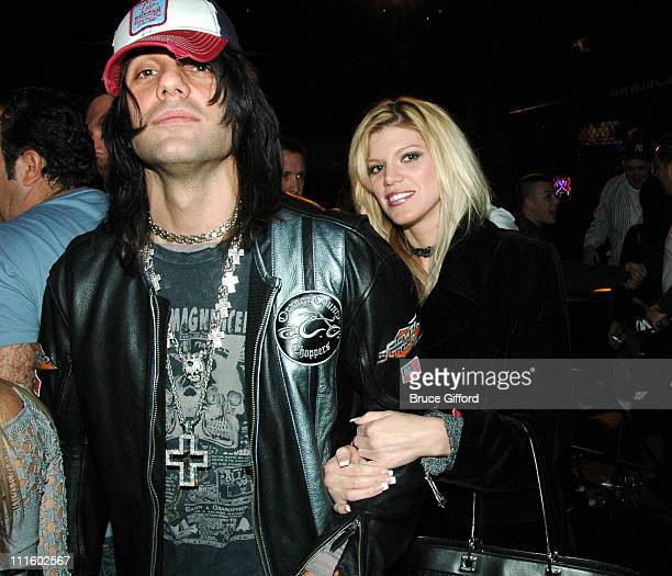 Magician Criss Angel and Guest during 'Ultimate Fight Night' Live From The Joint January 16 2006 at The Hard Rock Hotel and Casino in Las Vegas...