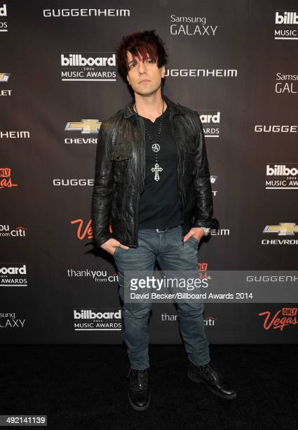 Magician Criss Angel attends the Official AfterParty for the 2014 Billboard Music Awards at The Light at Mandalay Bay Casino and Resort on May 18...