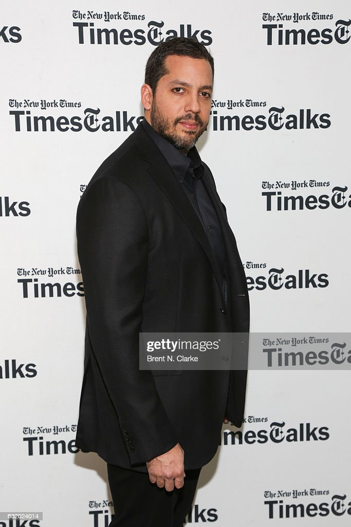 Magician David Blaine attends TimesTalks with David Blaine held at Florence Gould Hall on January 18, 2017 in New York City.