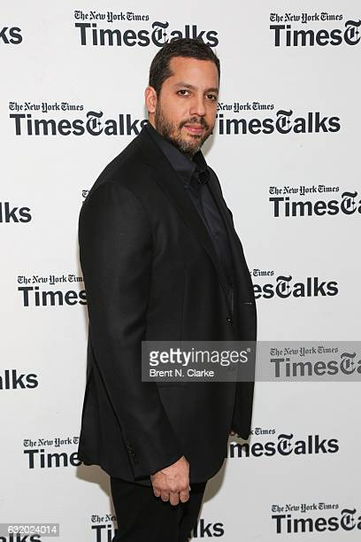 Magician David Blaine attends TimesTalks with David Blaine held at Florence Gould Hall on January 18 2017 in New York City