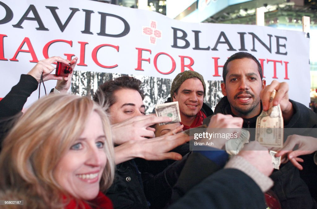 David Blaine's 72-Hour Magic Marathon To Raise Money For Haiti
