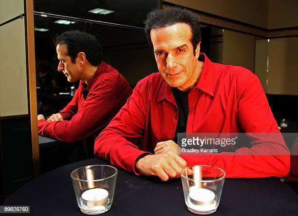 Magician David Copperfield poses for a photo after holding a photo call to launch his first Australian show in 10 years and associated national tour...