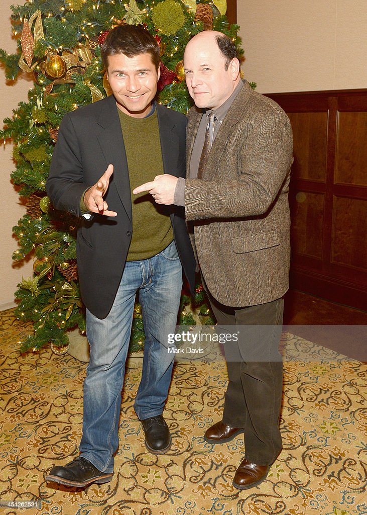 Magician JB Benn (L) and actor Jason Alexander attend the Waterkeeper Alliance Benefit during Day 2 of the Deer Valley Celebrity Skifest held at Montage Deer Valley on December 7, 2013 in Park City, Utah.