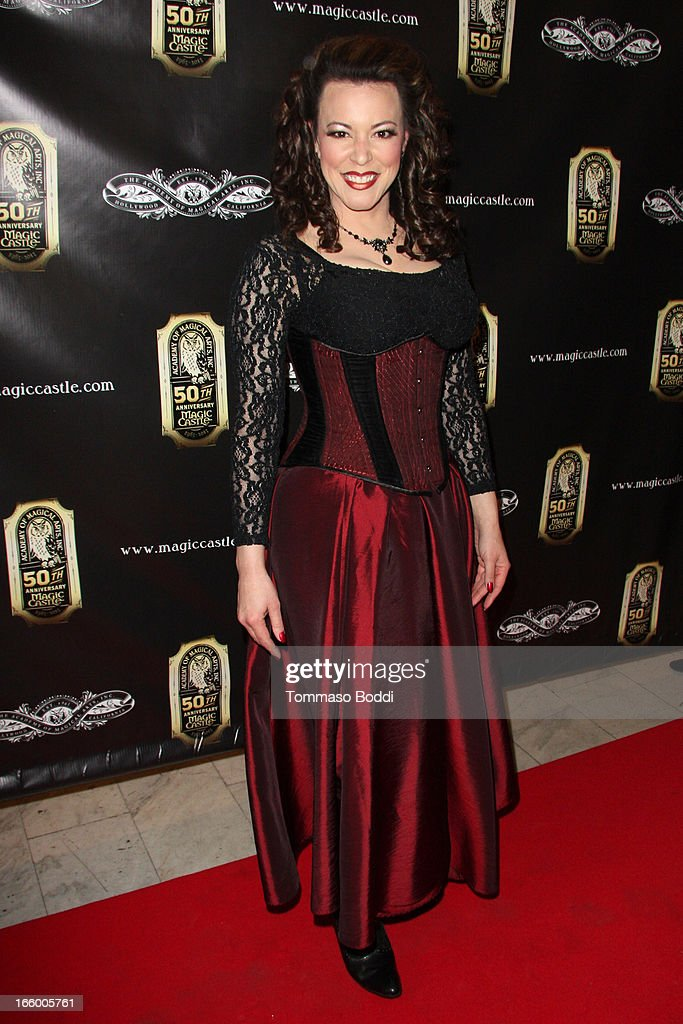 Magician Misty Lee attends the Academy Of Magical Arts 45th Annual AMA Awards Show held at the Orpheum Theatre on April 7, 2013 in Los Angeles, California.
