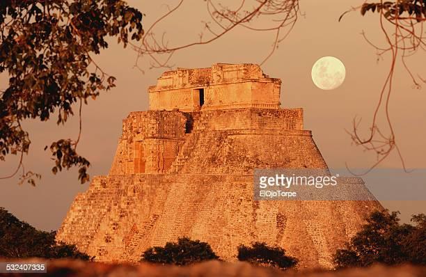 Magician Pyramid, Uxmal, Mexico