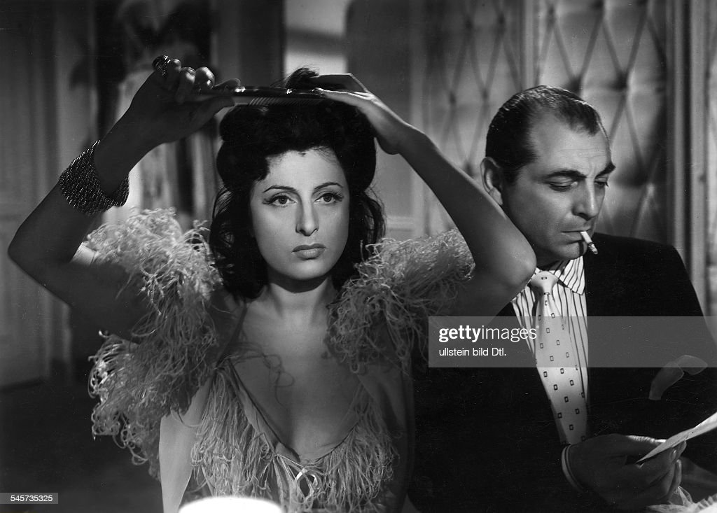 Magnani Anna Actress Italy * Scene from the movie 'Il Bandito'' Directed by Alberto Lattuada Italy 1946 Produced by Dino de Laurentiis...