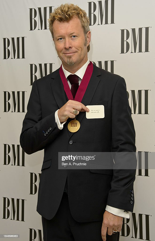 Magne Furuholmen attends the BMI Awards at The Dorchester on October 15, 2013 in London, England.