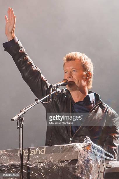 Magne Furuholmen from AHA performs at 2015 Rock in Rio on September 27 2015 in Rio de Janeiro Brazil