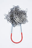 Magnet and Paper Clips