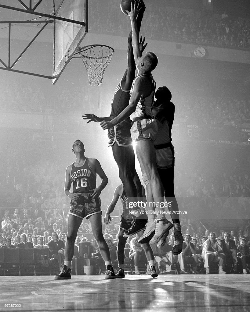 Magnetic Attraction Two basketball giants Knicks 6 9 Ken