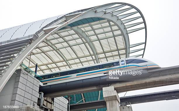 Magnetic levitation train in Shanghai
