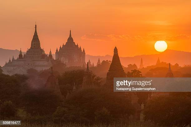 Magnificent Sunset in Bagan