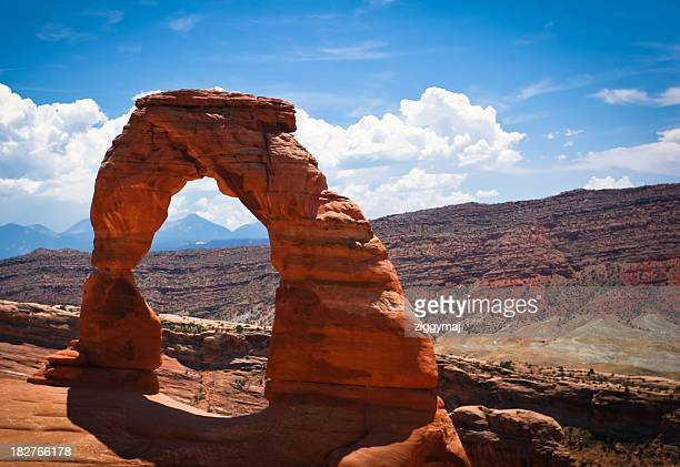 Magnificent view of Arches National Park in Utah