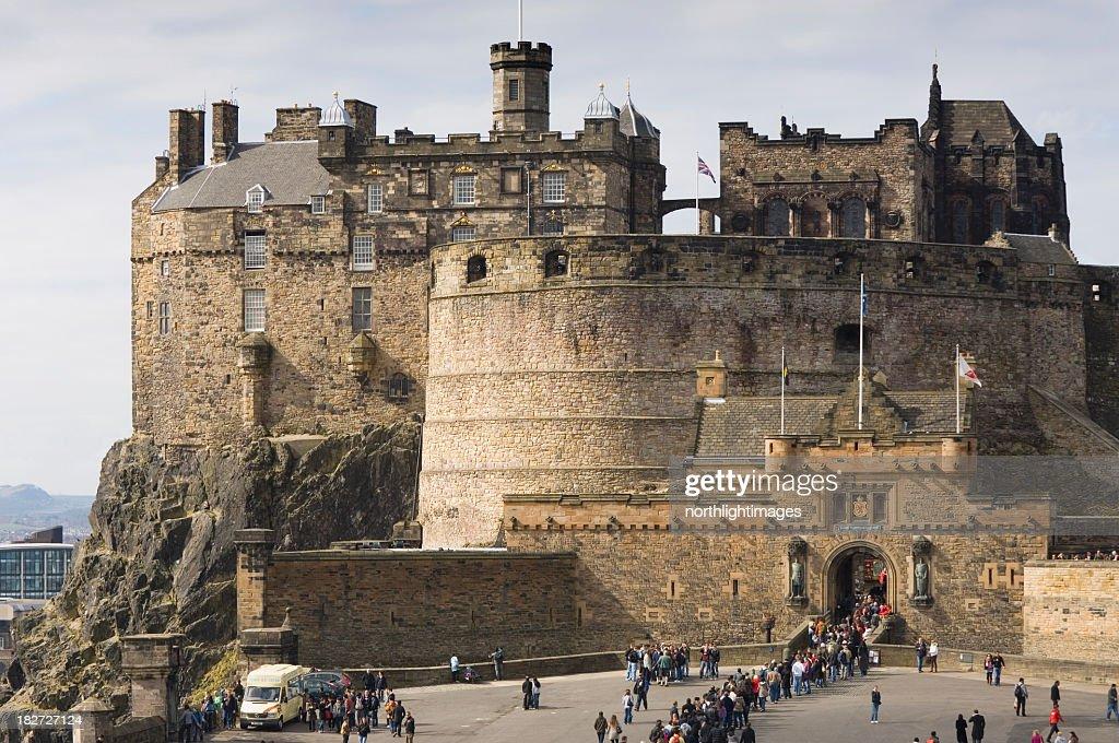 Castillo de Edimburgo : Foto de stock