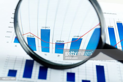 Magnified increase : Stock Photo