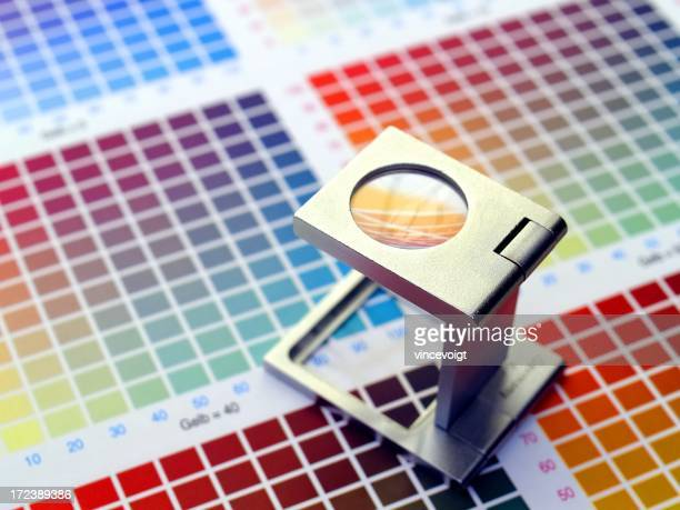 magnifying colors
