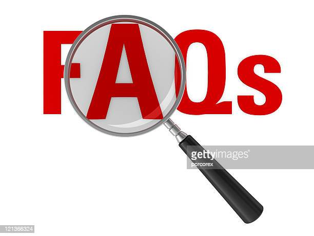 Magnifying Glass Focus FAQs Word