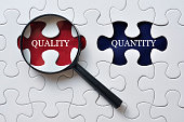 Searching for Quality and Quantity concept