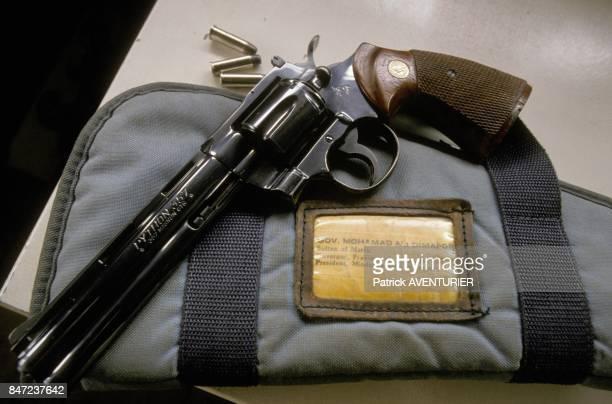 Magnum 357 avec balles blindees explosives du sultan Mohamed Ali Dimaporo en mars 1988 aux Philippines