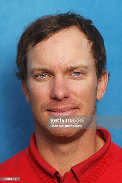 Magnus A Carlsson of Sweden poses after Round 2 during the European Tour Qualifying School Final at the PGA Catalunya Resort Golf Course on December...