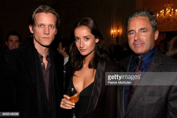 Magnus Berger Rekha Luther and Campion Platt attend Launch of Rosenthal Concept Store at The Shops at The Plaza at Plaza Terrace Foyer on October 14...