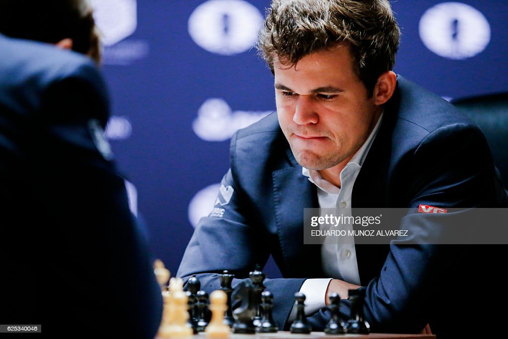 US-NORWAY-RUSSIA-CHESS-CHAMPIONSHIP : News Photo