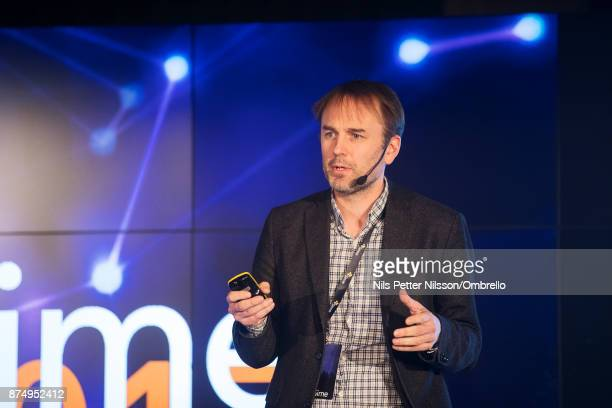 Magnus Kempe Director Retail Finance Kairos Future during the Sime Awards at Epicenter on November 16 2017 in Stockholm Sweden