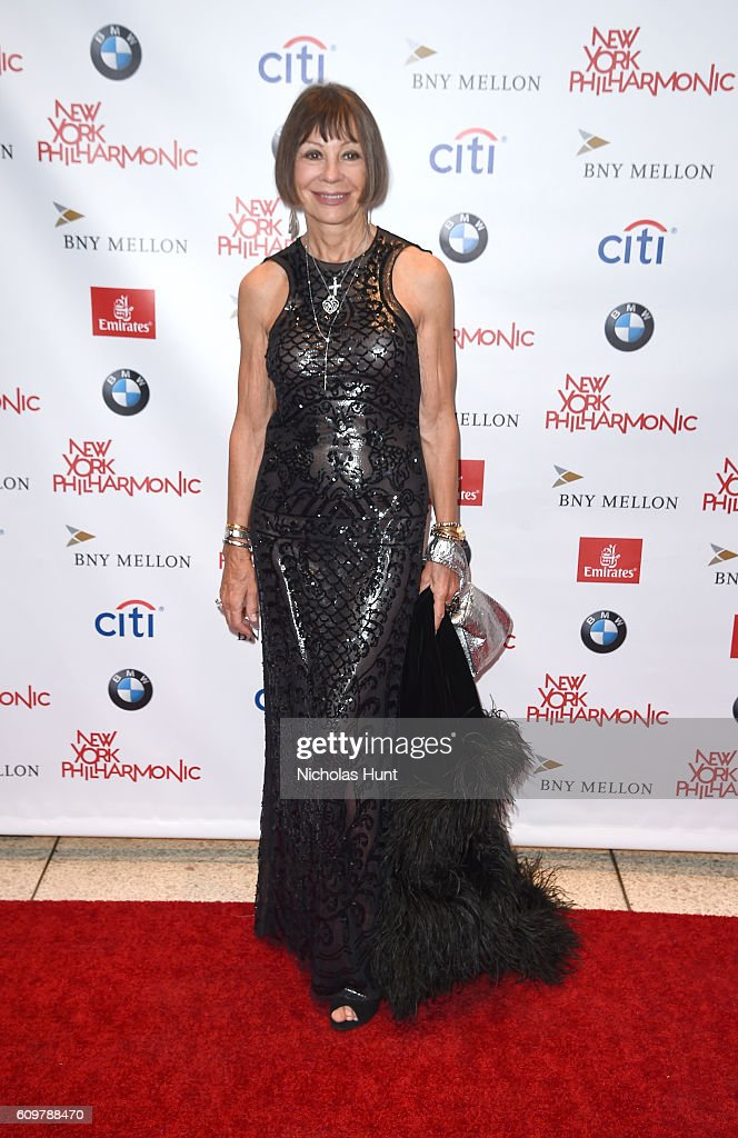 Maguy Le Coze of Le Bernardin attends New York Philharmonic's Opening Gala Celebrating the 175th Anniversary Season at David Geffen Hall on September 21, 2016 in New York City.