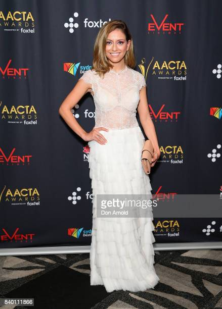 Maha Wilson attends the AACTA Festival of Australian Film opening night at Event Cinemas Bondi Junction on August 28 2017 in Sydney Australia