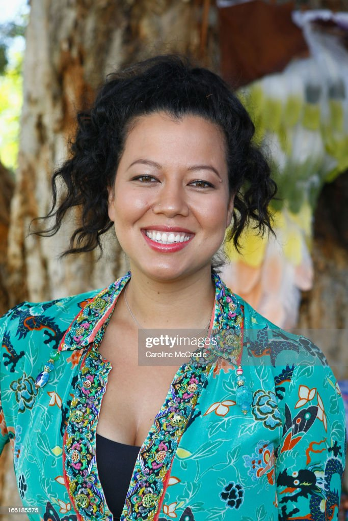 Mahalia Barnes attends the Camilla show during Mercedes-Benz Fashion Week Australia Spring/Summer 2013/14 at Centennial Park on April 10, 2013 in Sydney, Australia.