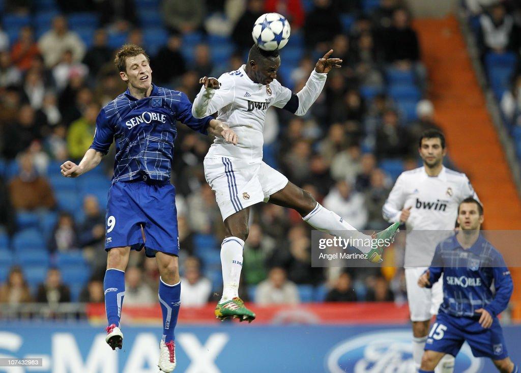 Real Madrid v AJ Auxerre - UEFA Champions League