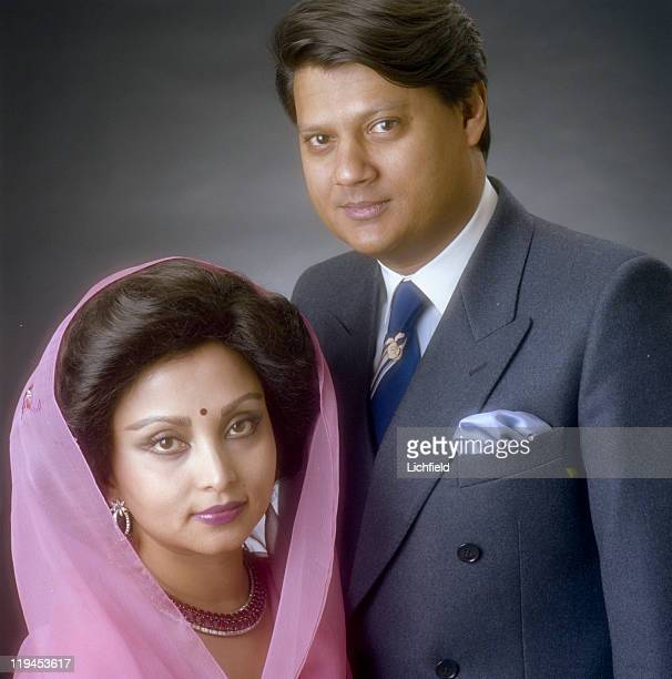 Maharaja and Maharani of Gwalior HH Maharaja Scindia Madhavrao III Scindia and his wife HH Maharani Pratima Rajya Laxmi Devi 16th January 1981