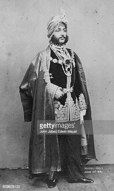 Maharaja Duleep Singh in ceremonial dress London 1st June 1861 Duleep Singh was the last Maharaja of Lahore and of the Sikh Empire