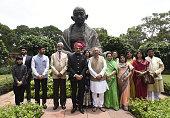 Maharashtra BJP Newly Rajya Sabha MP Sambhaji Raje Chhatrapati during the Parliament Monsoon Session on July 18 2016 in New Delhi India A total of 25...