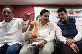 IND: Maharashtra CM Devendra Fadnavis Felicitates Newly Appointed BJP Mumbai President Mangal Prabhat Lodha
