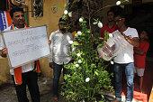 IND: Maharashtra Navnirman Sena Protests Against Rajya Sabha MP Sanjay Raut