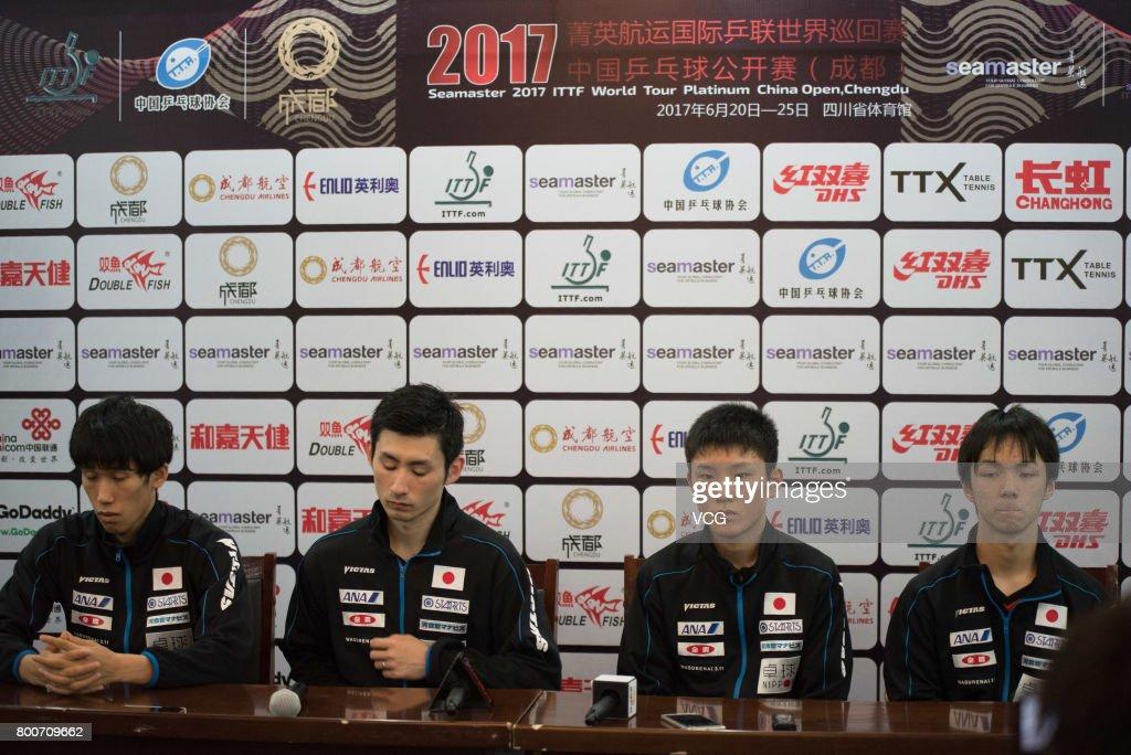 2017 ITTF World Tour China Open - Day 4