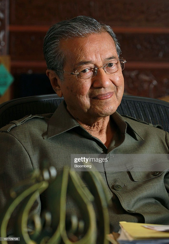 Former Malaysian Prime Minister Mahathir Mohamad Interview