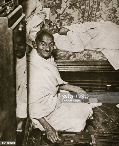Mahatma Gandhi visiting London for 'Round Table' conferences September 1931 Mohondas Karamchand Gandhi known as Mahatma was one of the leaders of the...