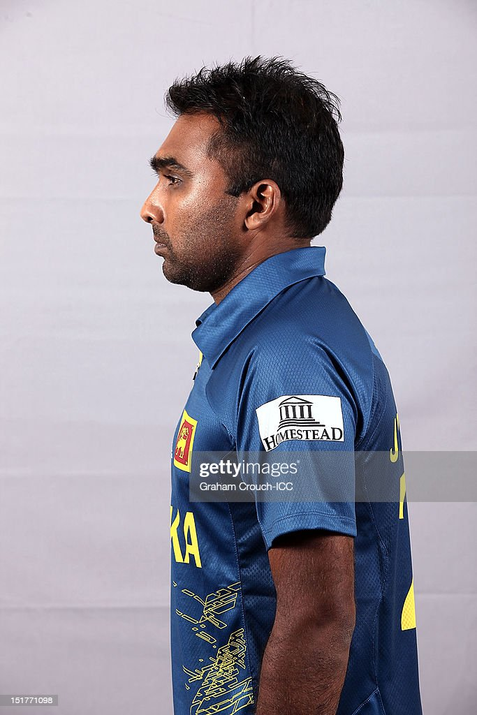 Mahela Jayawardena of Sri Lanka poses on September 11, 2012 in Colombo, Sri Lanka.