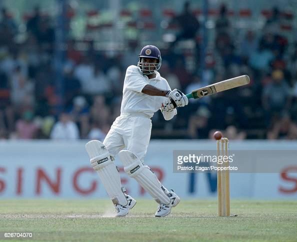 Mahela Jayawardene batting for Sri Lanka during the 1st Test match between Sri Lanka and England at Galle International Stadium Galle Sri Lanka 23rd...