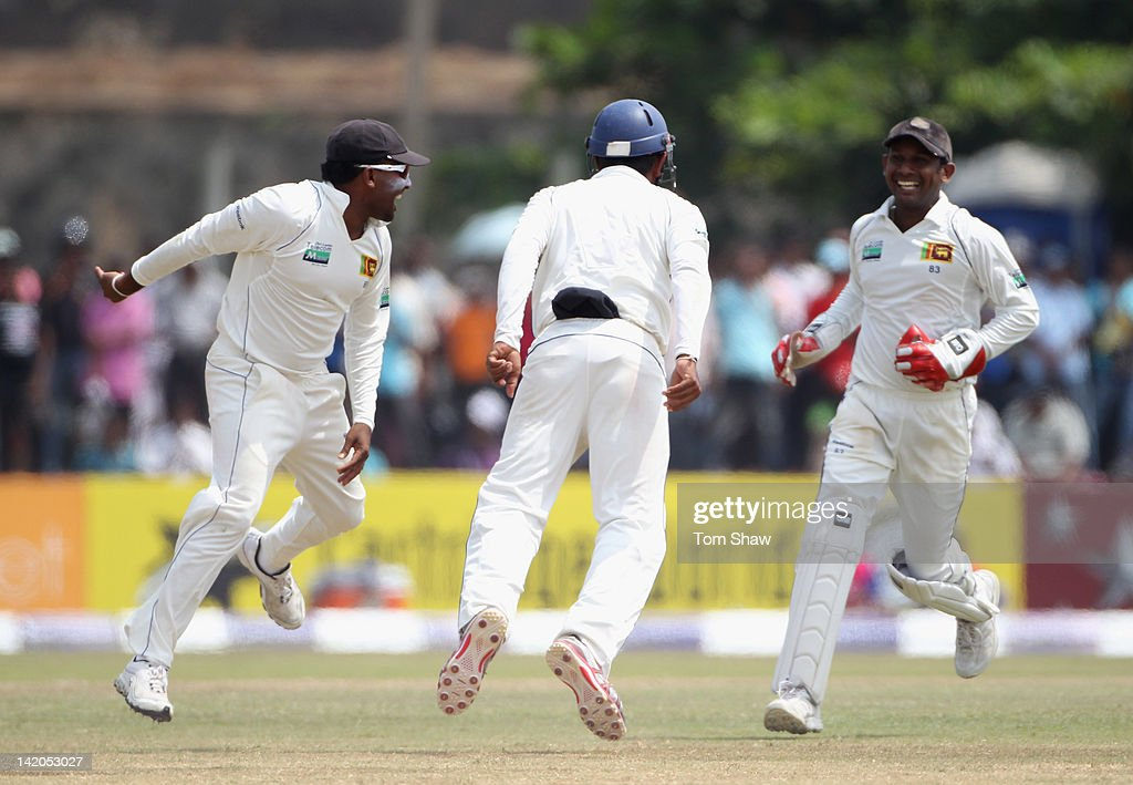 Sri Lanka v England: 1st Test - Day Four